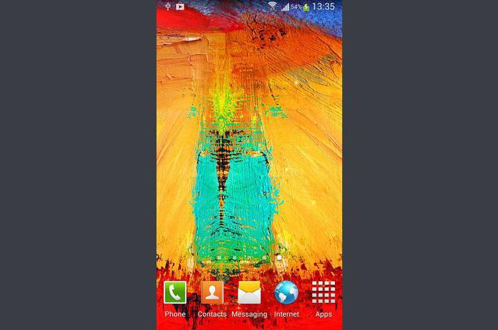 Galaxy Note 3 Live Wallpaper