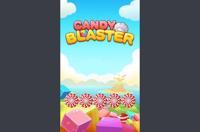 Cukierki blaster