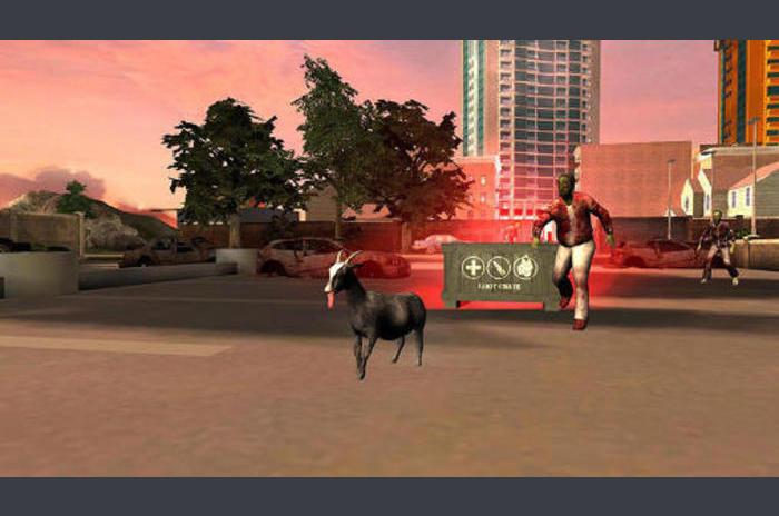 Simulator de capră: GoatZ