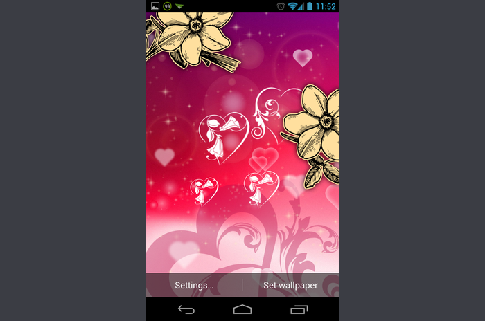 Kärlek Live Wallpaper Free