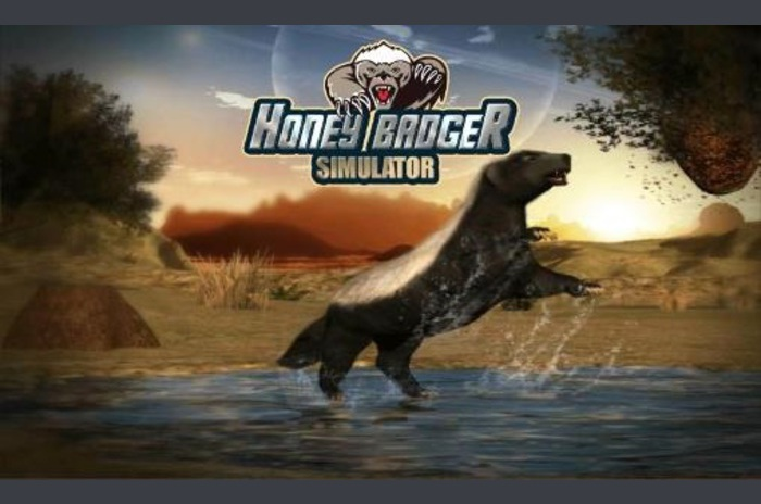 Honey badger simulator