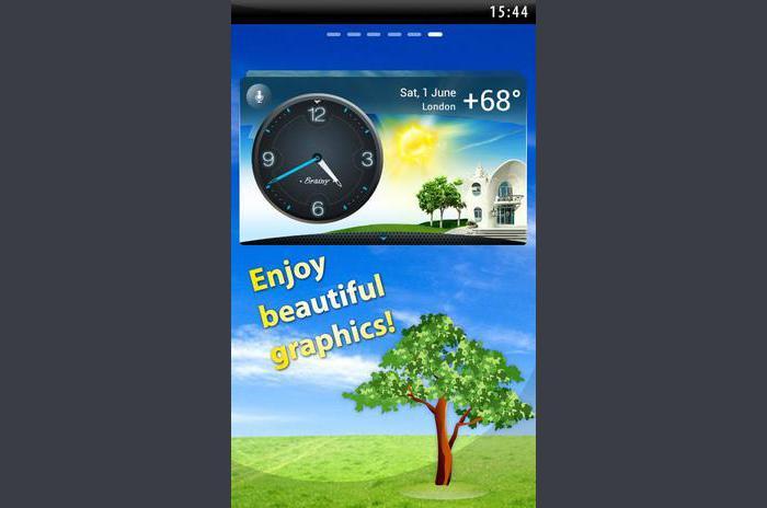 Weather & Clock - Meteo Widget