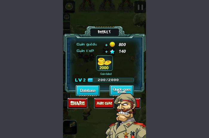 Metal hős: Army háborús