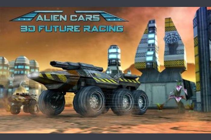 Alien automobila: 3D budućnost utrkujući