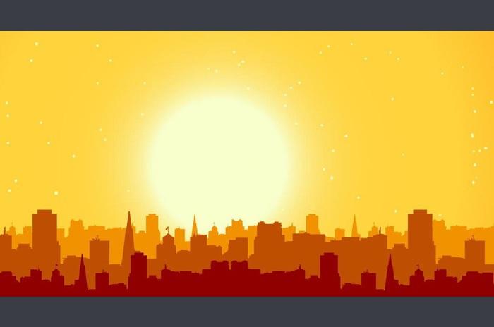 Panorama orașului Live Wallpaper