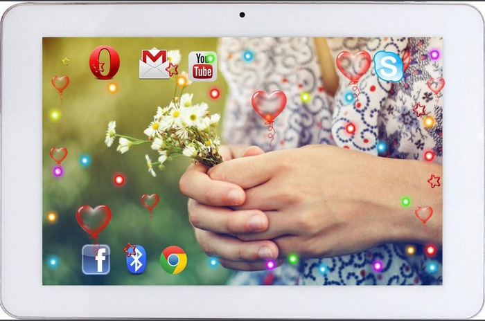 Flowers March 8 live wallpaper