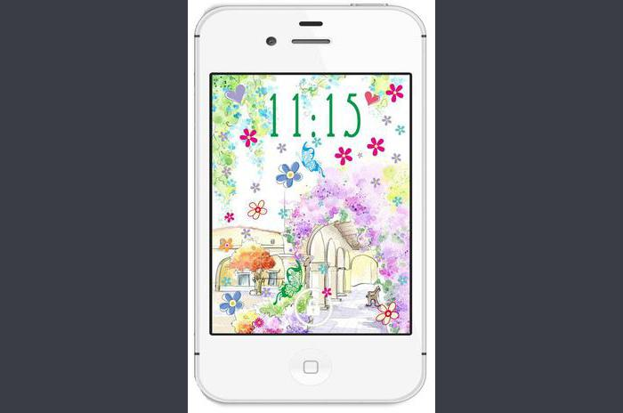 Fleurs de printemps live wallpaper