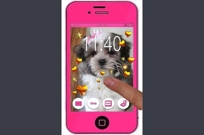 Plüss Puppy élő háttérkép