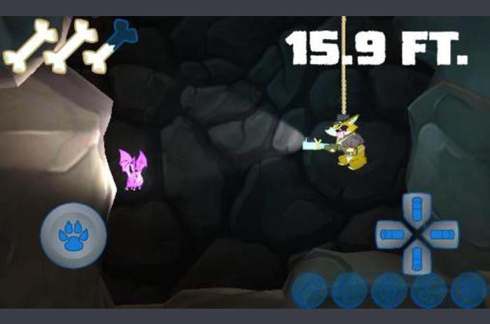 Corgi Sparkle merge scufundări peșteră