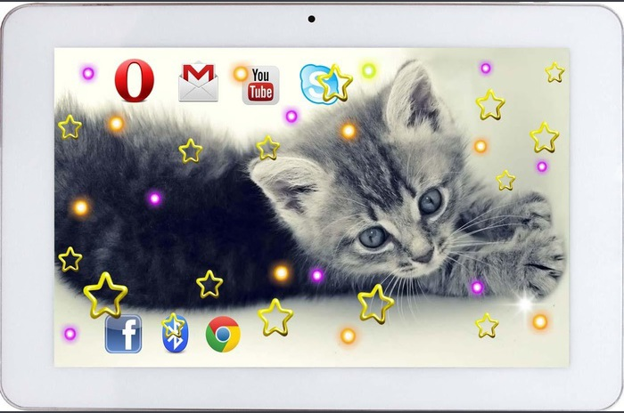 Kitty Songs live wallpaper