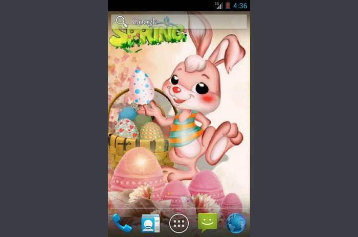 Tavaszi és húsvét Live Wallpaper