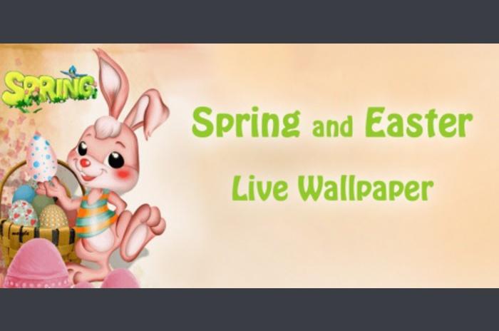 Lente en Pasen Live Wallpaper